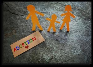 Adoption - Paper Cutouts Photo