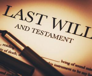 Photo of Last Will & Testament